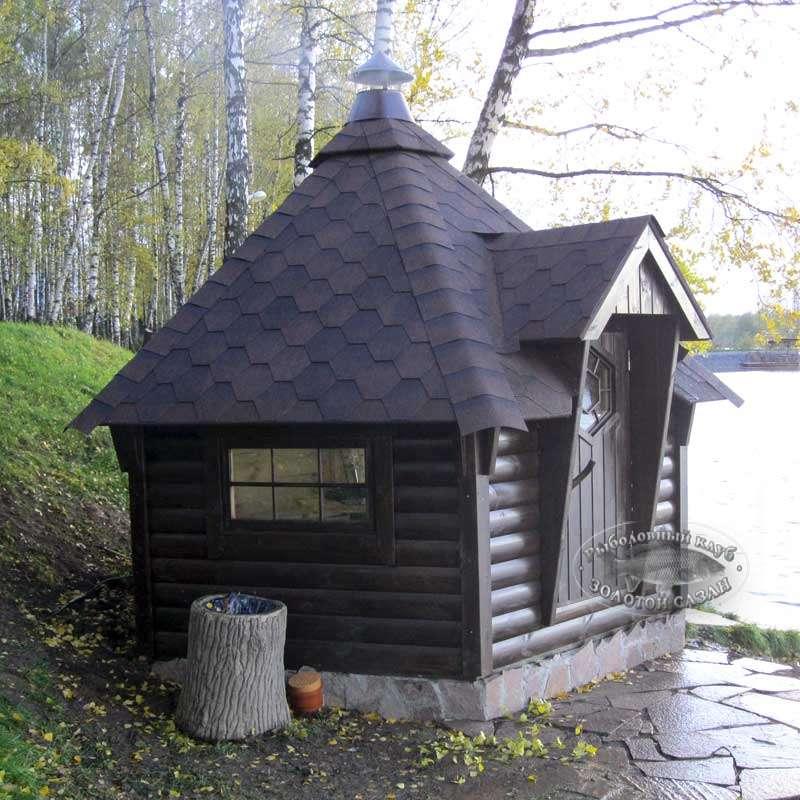 Финские домики для рыбаков.